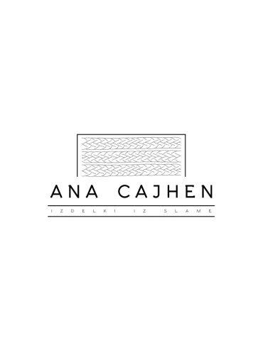 Izdelki iz slame Ana Cajhen