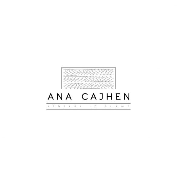 Straw handcraft Ana Cajhen