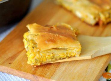 Bučna pita – Kolokithopita